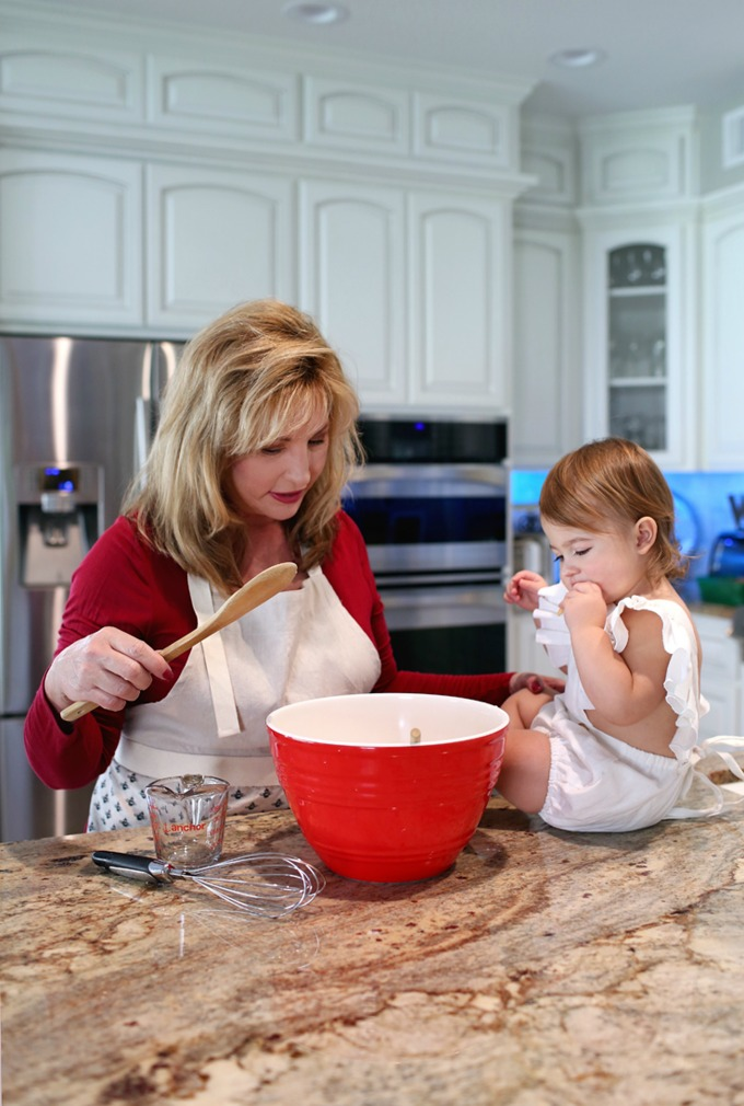 Baking and cooking with grandma is an exciting adventure for most little girls. These are warm memories I will forever cherish, and will always smile when I think of her and I in that kitchen.