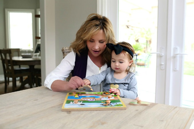 Puzzles are a great way to teach children about teamwork.