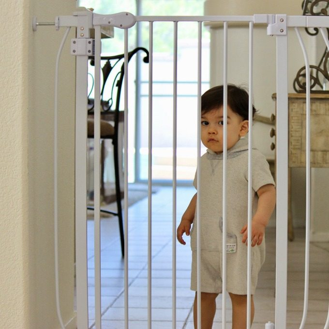 How to find the perfect baby gate, to keep your little one safe without sacrificing style in your home.