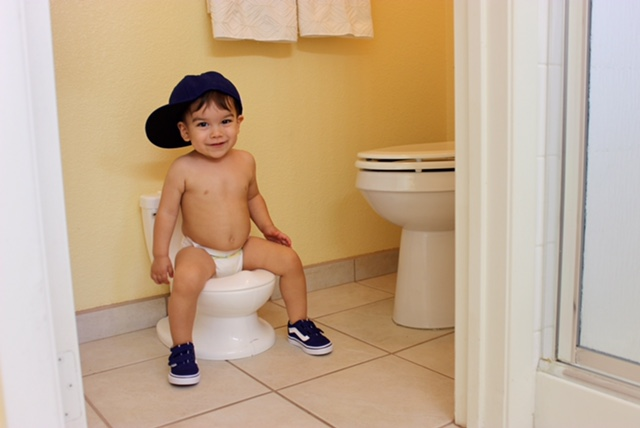 The My Size Potty gives your child a potty with the look and feel of the real thing that is just their size.
