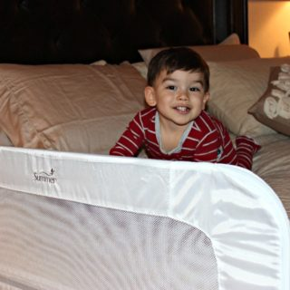 Safety Bed Rail That Converts From Crib Rail To Toddler Bed Rail