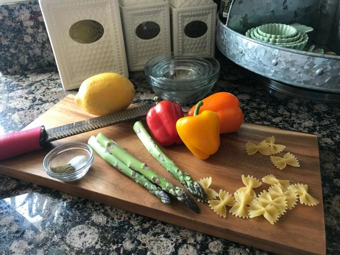 chicken asparagus pasta ingredients