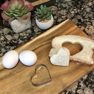 Simple Valentine's Day Breakfast