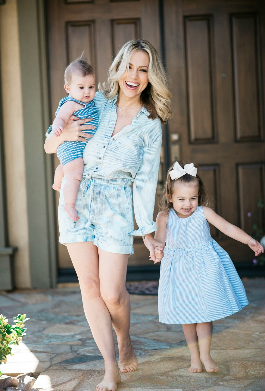 Jessica Hall and kids