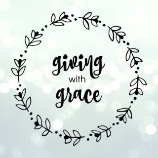 The giving with grace logo