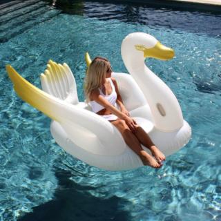 Ledge Lounger Swan Float
