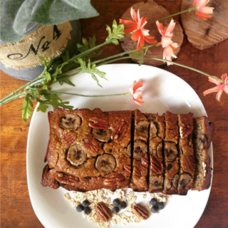 Chocolate Chip Banana Oat Bread