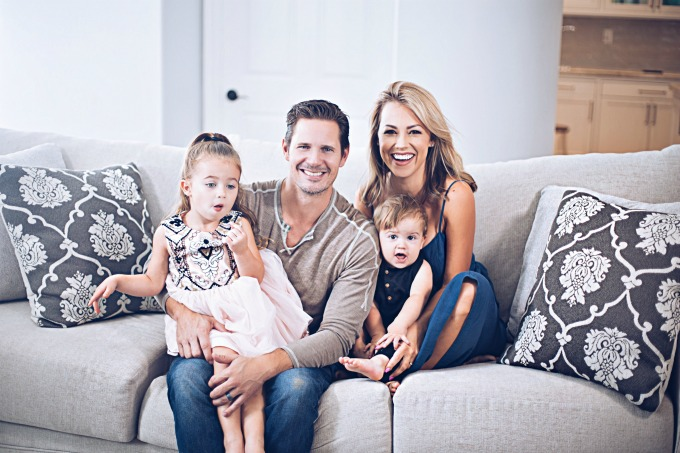 Jessica Hall and Family
