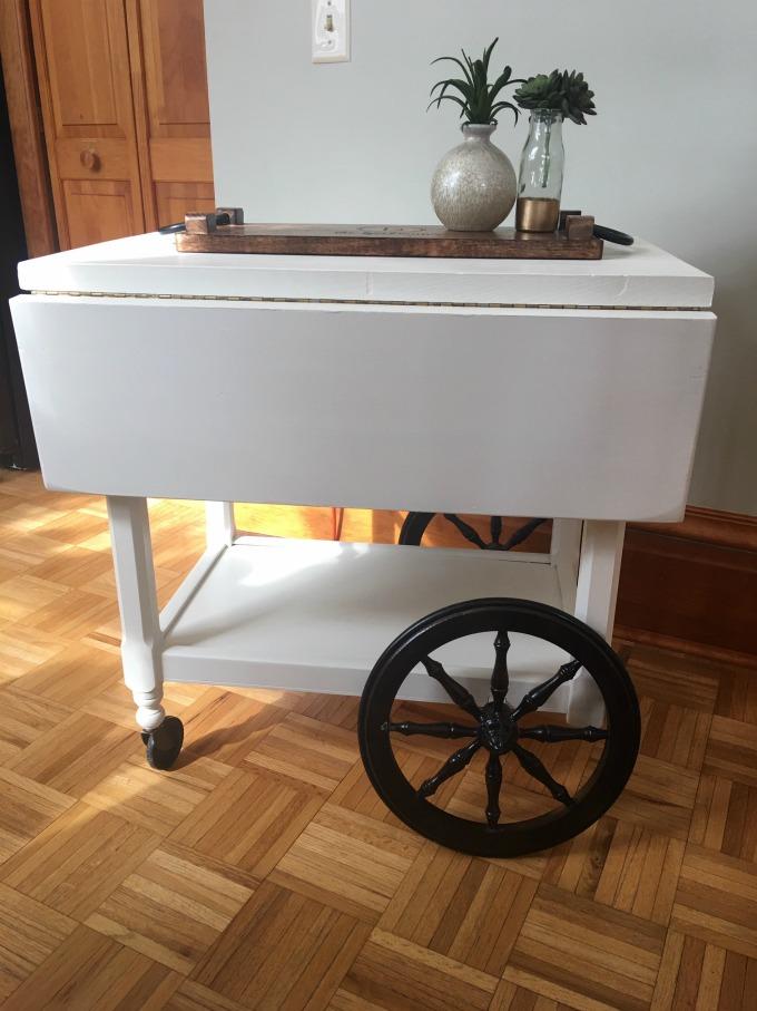 DIY Tea Cart Project
