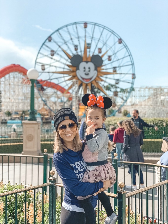 Jessica and Sophie at Disneyland