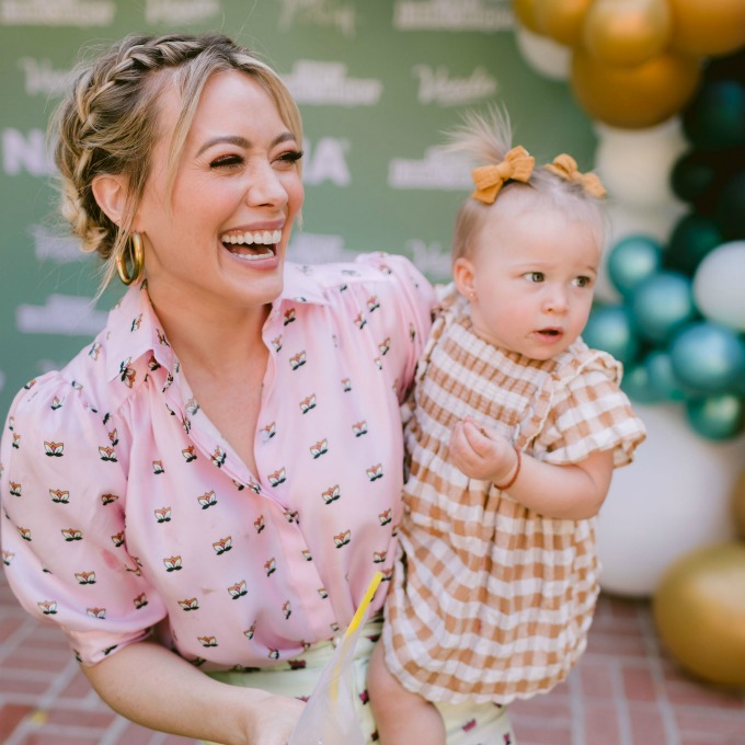 Hillary Duff and Daughter