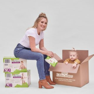 Happy Camper diapers and wipes