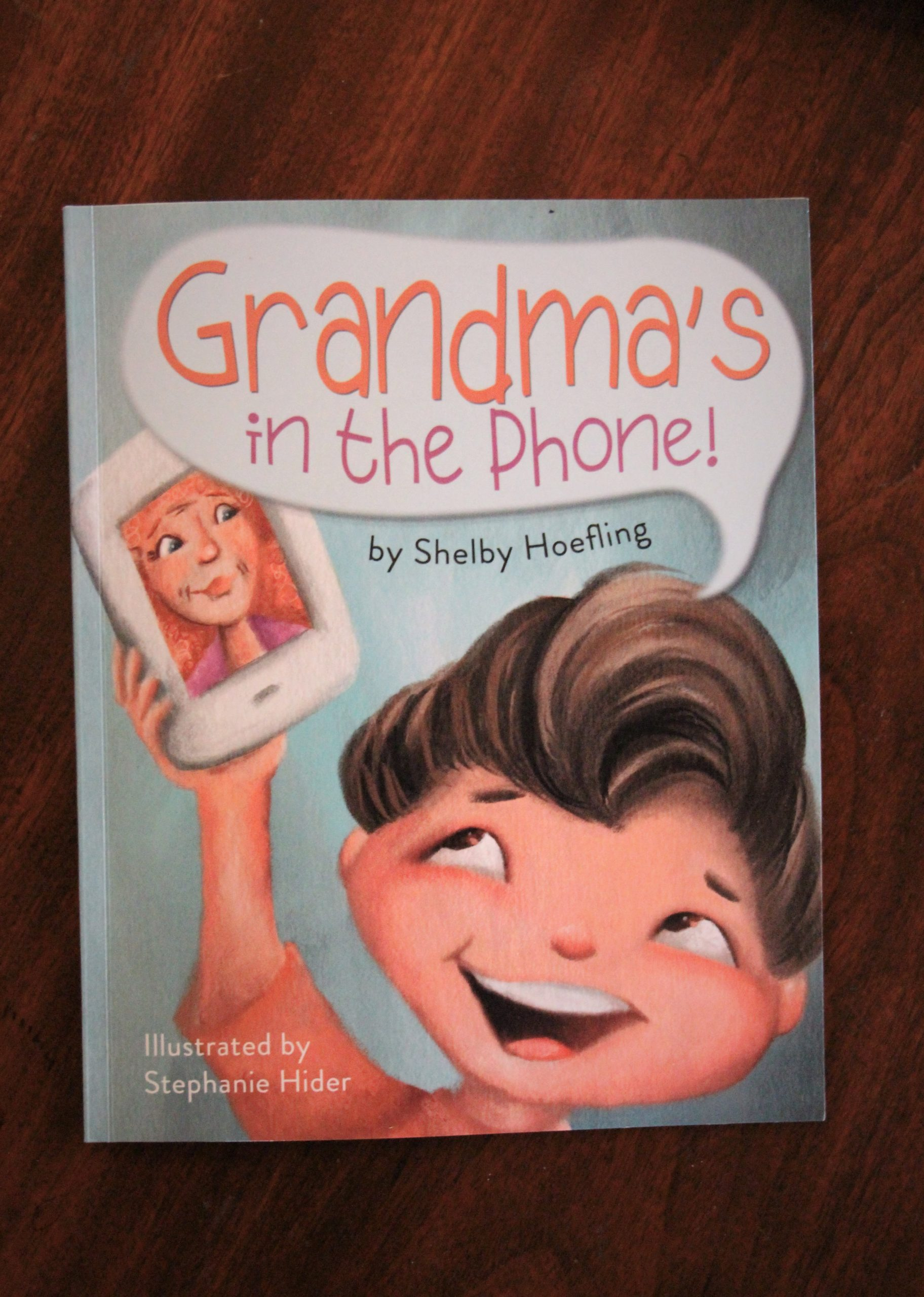 Grandma's In The Phone Book Cover