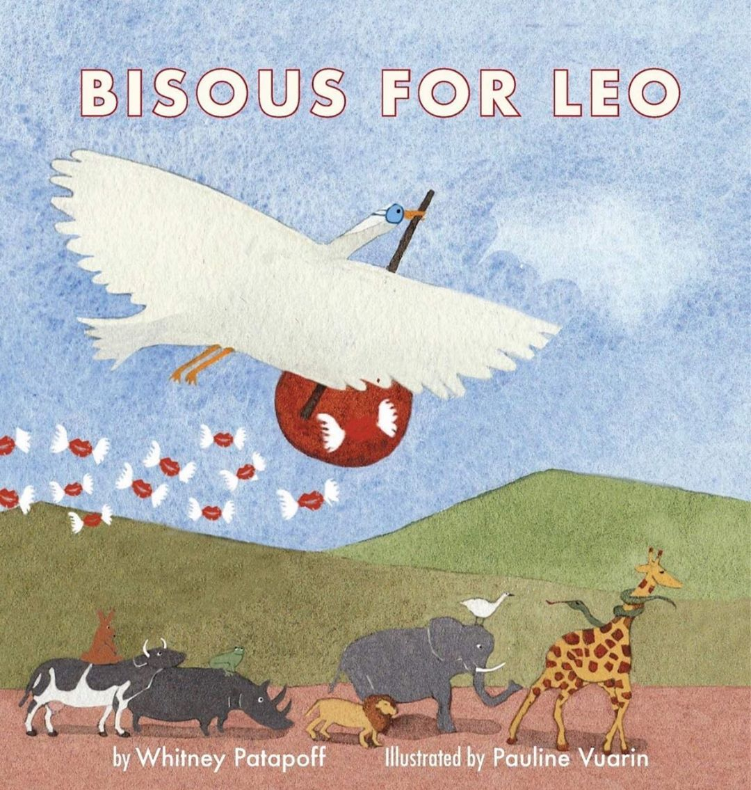 Bisous for Leo Book Cover