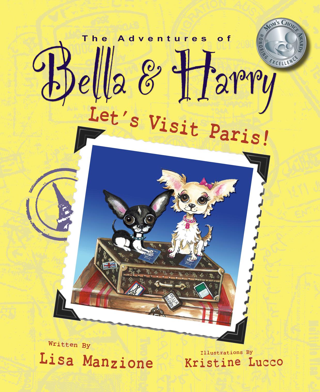 Bella & Harry Let's Visit Paris! Book Cover