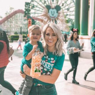 Jessica and Jake at Disneyland