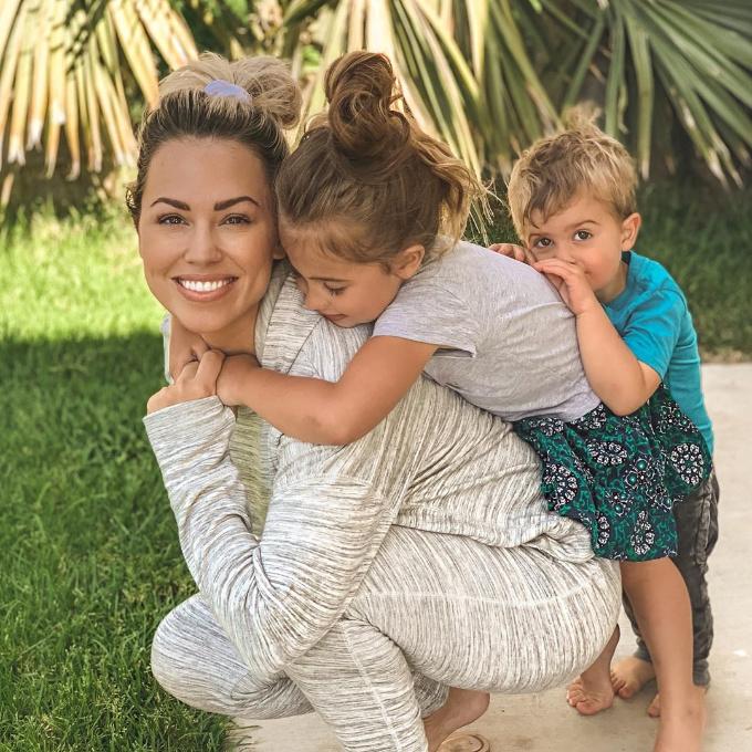 Jessica Hall and Kids