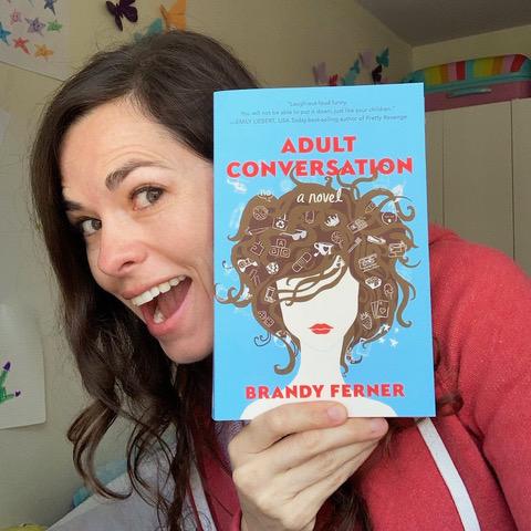 Brandy Ferner, author of Adult Conversation
