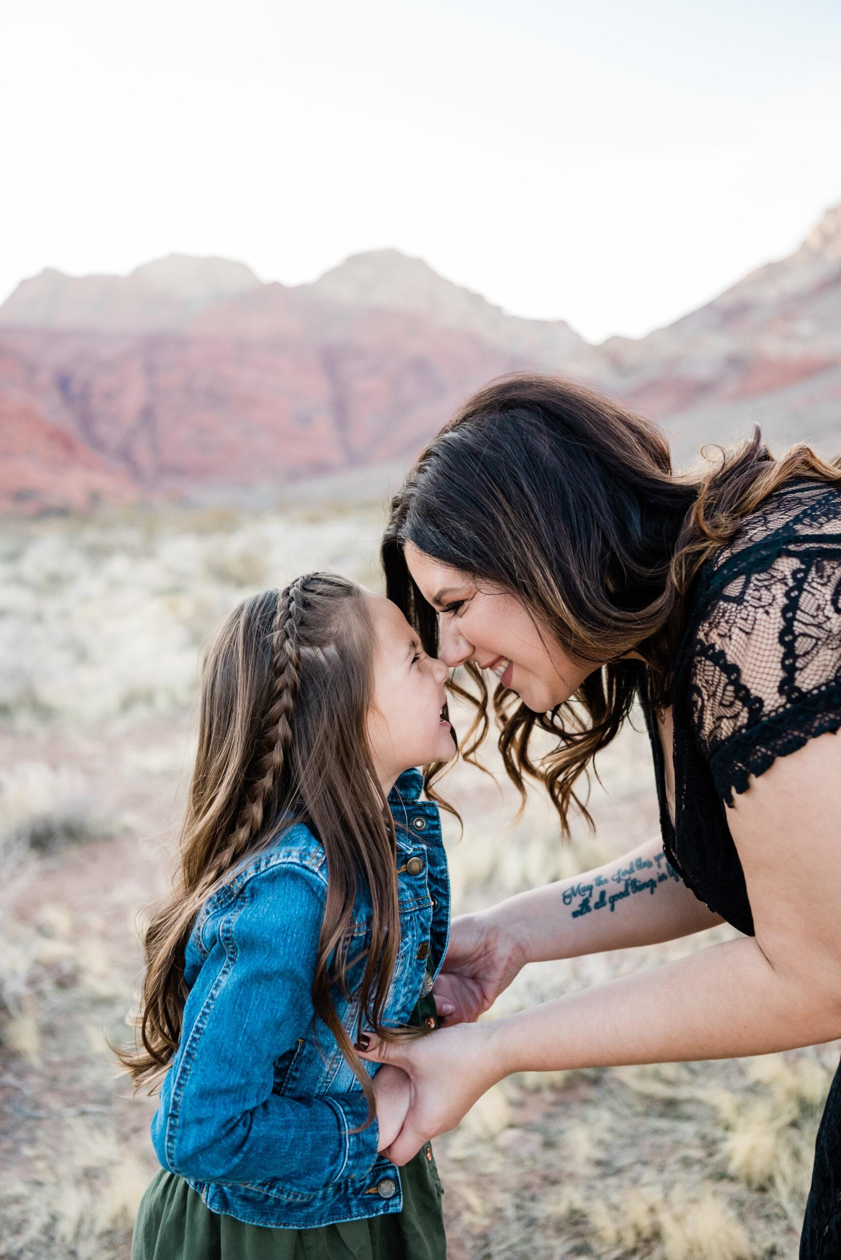 mom and bonus daughter