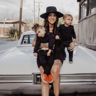 Katie Scott and Kids