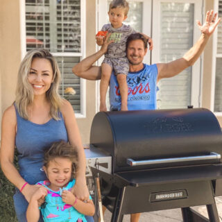 summer grilling with the family