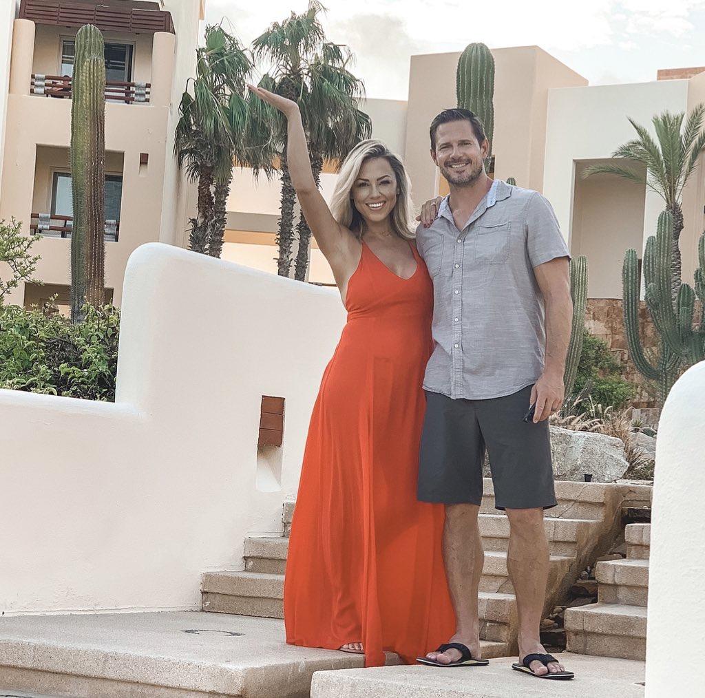Jessica Hall and husband Kyle at Pueblo Bonito