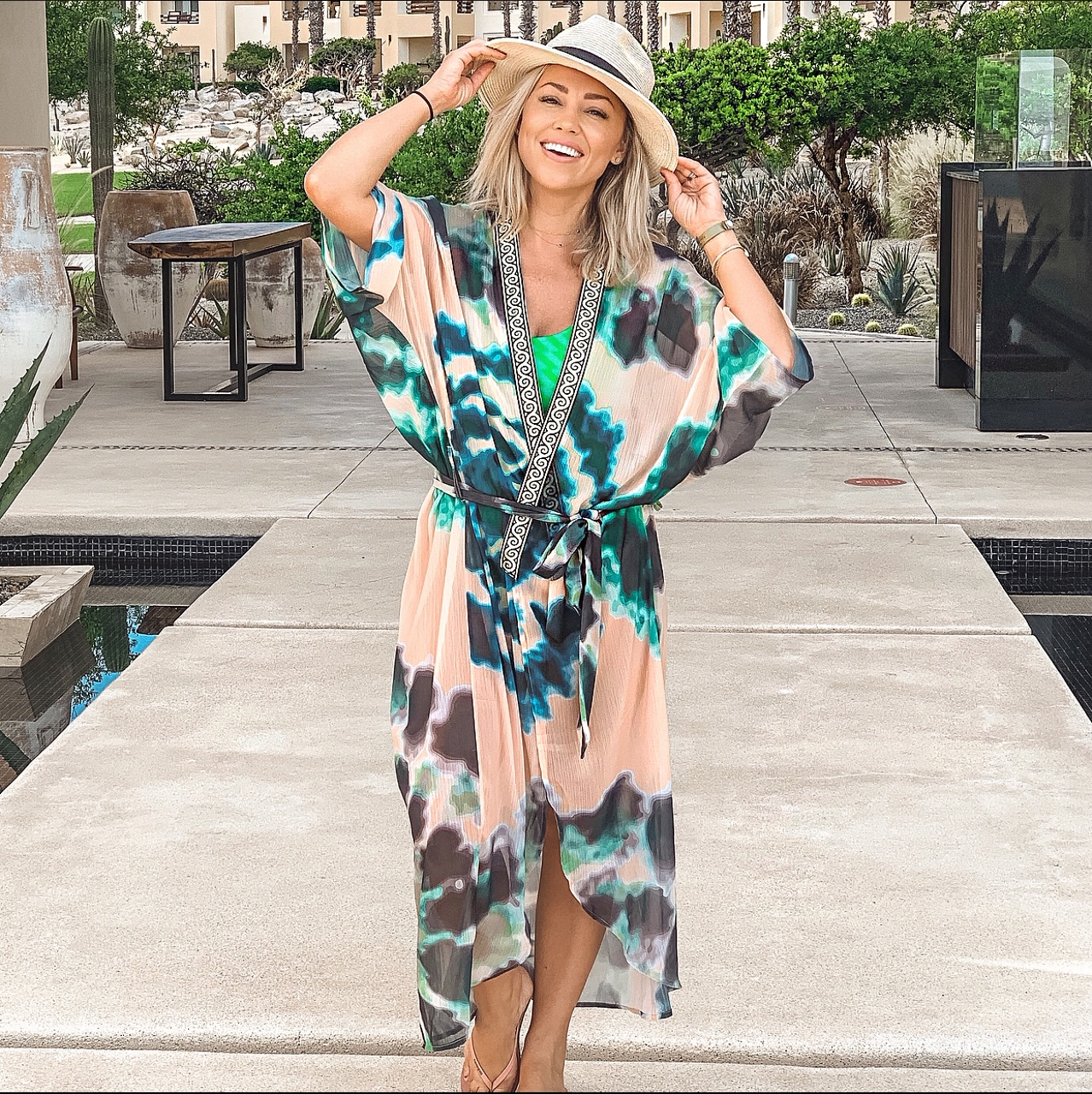 Jessica Hall at Resort