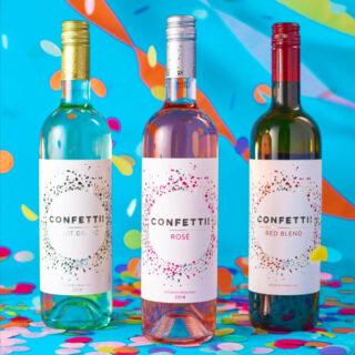 CONFETTI! Wine