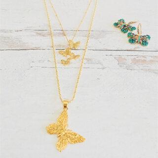 Emma J Company Butterfly jewelry