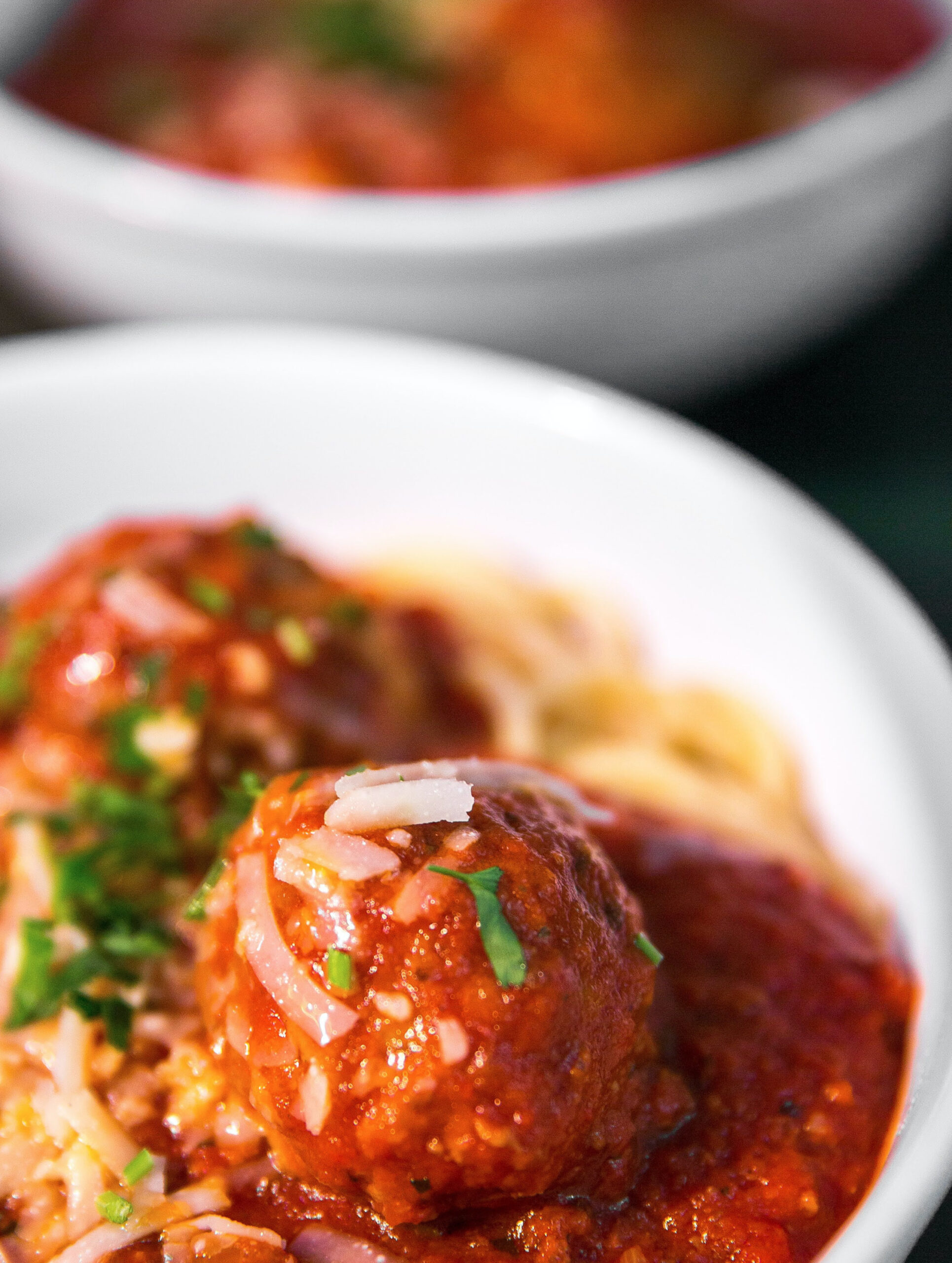 meatball in bowl
