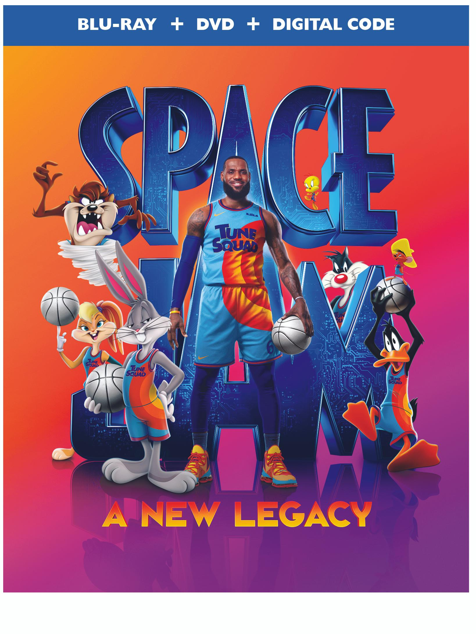 Space Jam: A New Legacy movie poster.